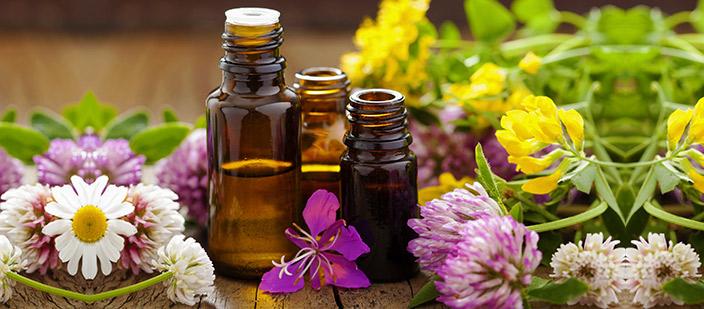 Tipos de Inhalación de aceites esenciales