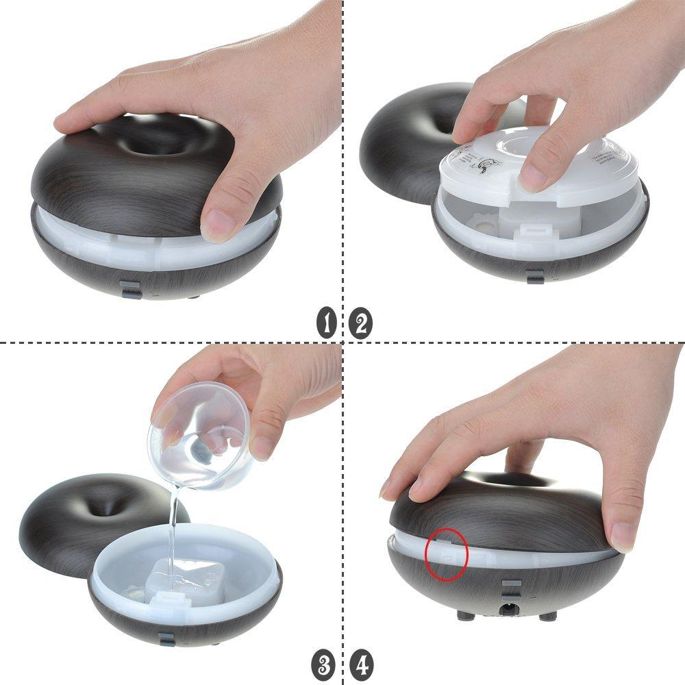Difusor de aromas con agua
