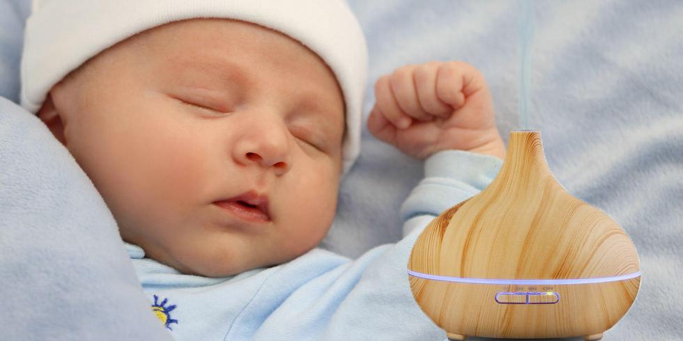 aceites esencales para bebés